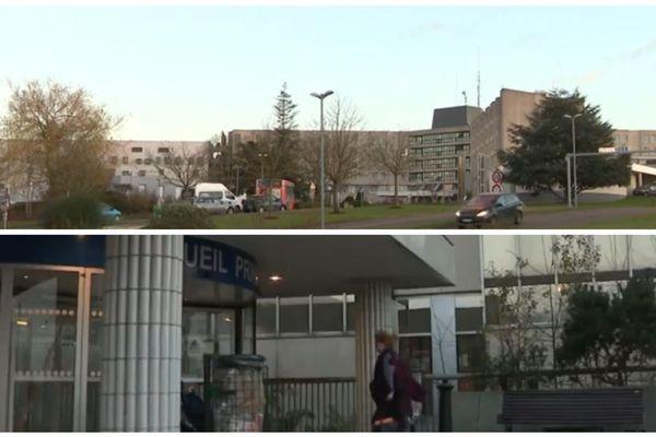L'hôpital Pasteur est situé au Coudray, dans la périphérie de Chartres.