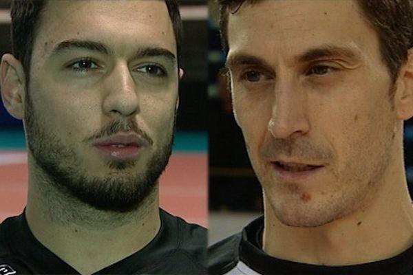 Eldin Demirovic et Bojan Janic (de gauche à droite)