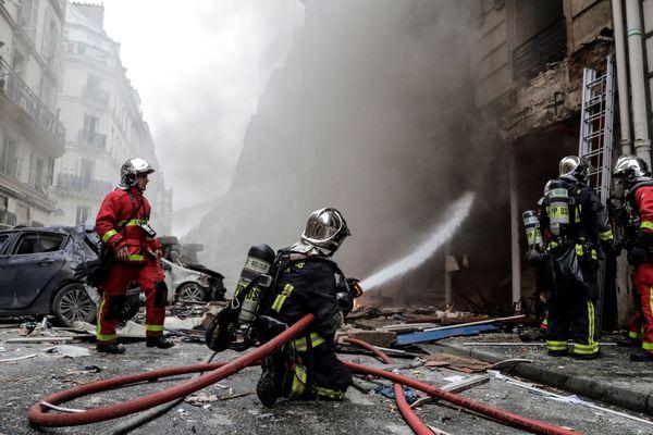 Le samedi 12 janvier au matin, une très forte explosion avait soufflé rue de Trévise à Paris, tuant quatre personnes, dont deux pompiers.