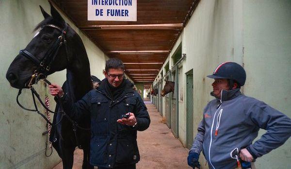 Vladimir est maintenant co-propriétaire de son cheval avec l'ENE