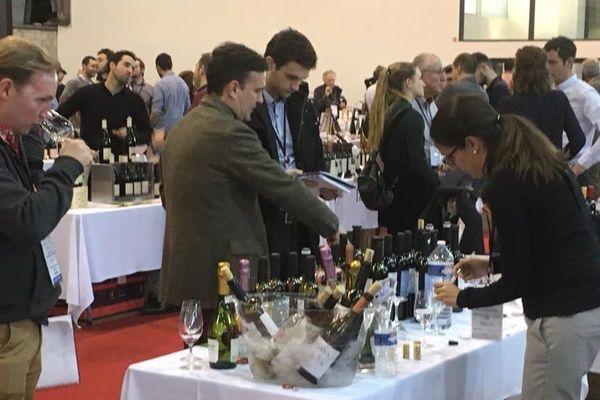 L'édition 2019 du Millésime Bio s'est ouverte le 28 janvier, à Montpellier. Si on peut cette année y trouver de nouveaux liquides alcoolisés tels que du pastis ou de la bière, le vin biologique y reste bien sûr largement majoritaire. (Photo d'archive/22ème Millésime Bio)