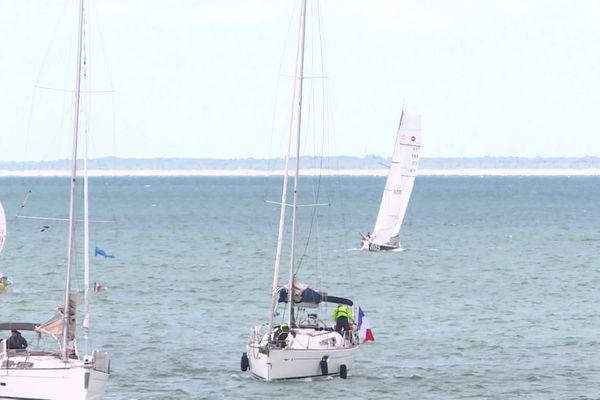 Une flotte de 40 bateaux pour ce tour de Charente-Maritime à la voile.