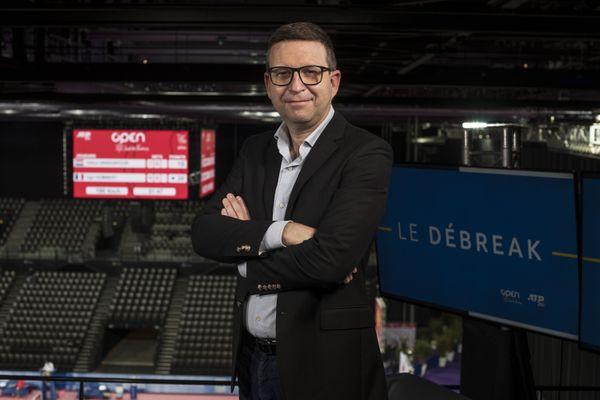 Olivier Roirand, le représentant du personnel de la chaîne Vià Occitanie