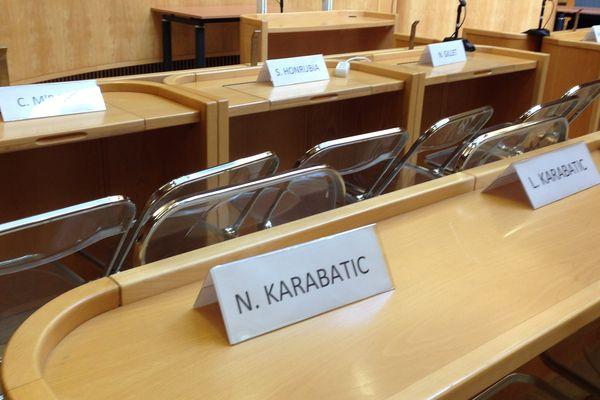 La salle d'audience du tribunal de Montpellier - 2015