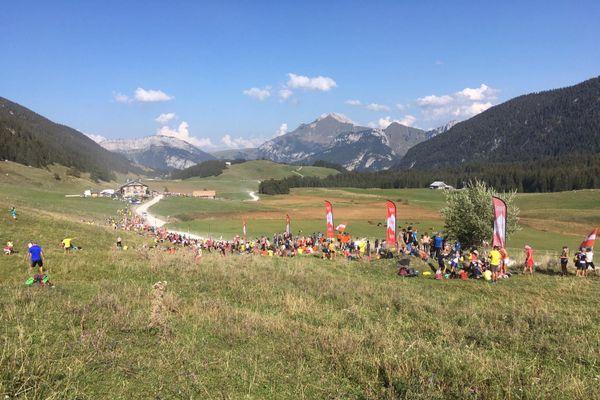 Le Plateau de Glières, en Haute-Savoie, le 17 septembre 2020.