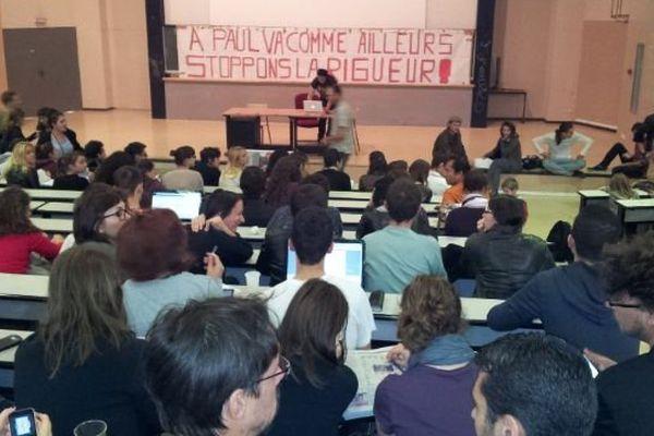 L'assemblée générale doit décider de la suite à donner au blocage de l'Université Paul Valéry