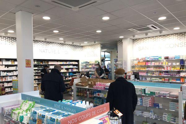 Une pharmacie dans les quartiers nord de Blois, image d'illustration.
