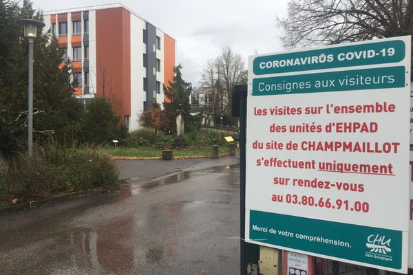 Les premières vaccinations en France vont avoir lieu au centre gériatrique de Champmaillot à Dijon.