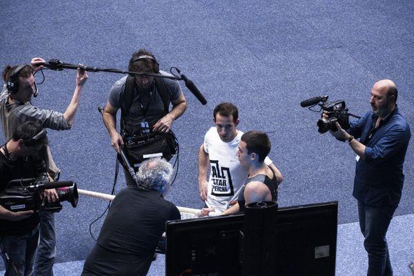 Cédric Klapisch a poursuivi tout au long du week-end le tournage d'un documentaire qui sera diffusé en août 2016 sur France Télévisions. Il s'agira d'un film consacré au quotidien de Renaud Lavillenie dans l'année qui précède les Jeux Olympiques.
