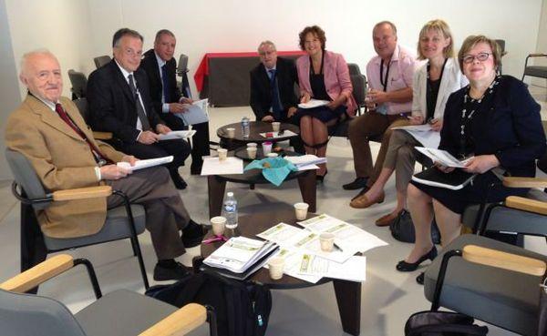 Le jury de l'édition 2015.