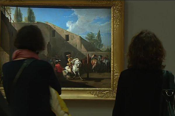 L'exposition Fenêtres sur cour se tient jusqu'au 17 avril 2017, au musée des Augustins de Toulouse.