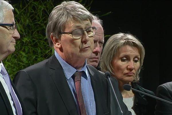 A l'occasion de la cérémonie des voeux de Limoges Métropole, le Président a pour la première fois officiellement parlé de sa maladie depuis 2 ans.