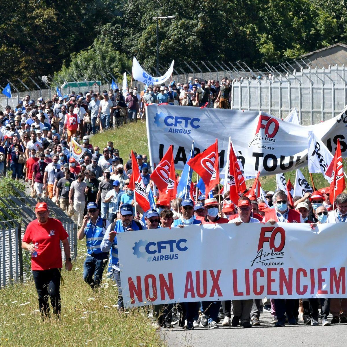 A Toulouse, Airbus entre dans le dur pour la préparation de son plan social