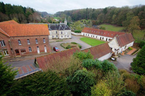 L'abbaye de Belval à Troisvaux