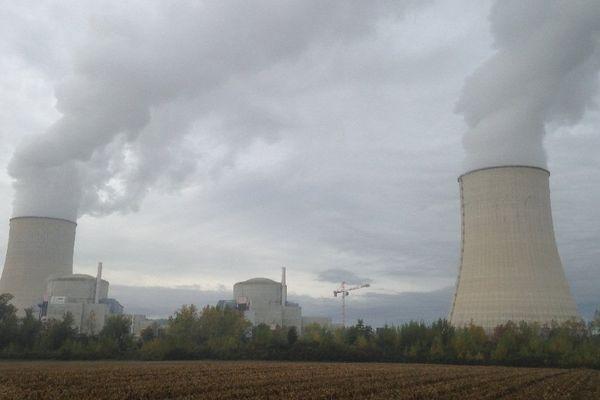 La centrale nucléaire de Golfech (82), ce mardi matin.