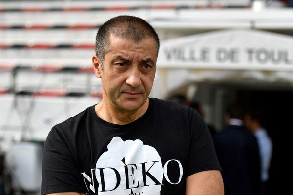 Archives. L'ancien président du Rugby Club Toulonnais Mourad Boudjellal.
