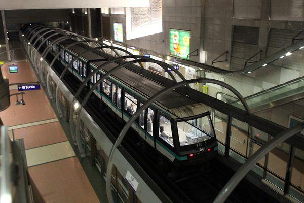La ligne 14, à Paris