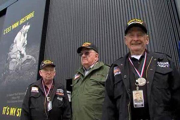 Un groupe d'une douzaine de vétérans a visité le Dead Man's corner Museum vendredi. D'autres anciens combattants y sont attendus le 4 juin.