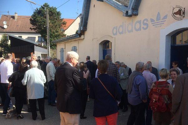 Les anciens d'Adidas France à Dettwiller