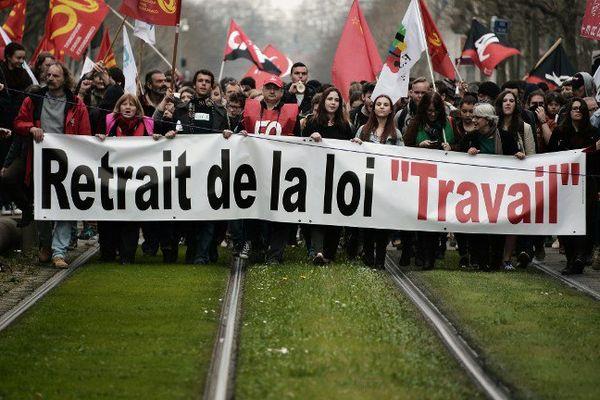Journée de mobilisation nationale ce mardi 14 juin pour le retrait de la loi travail.