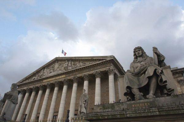 L'Assemblée Nationale Française à Paris