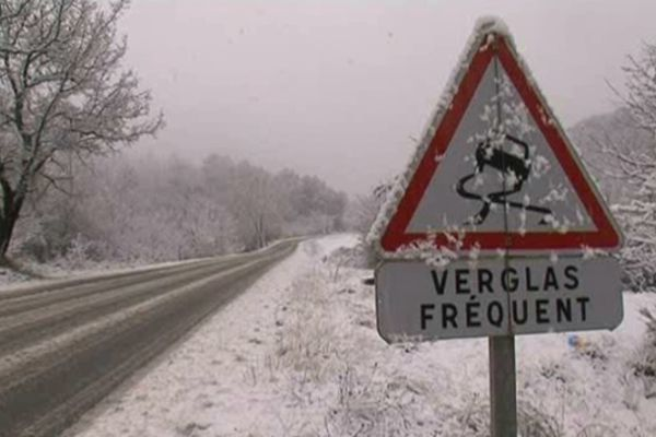 Image d'archives : La neige dans le Var