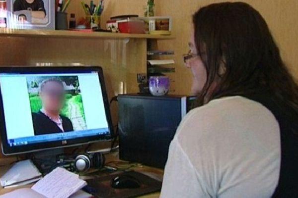 Sylvie Lelandois est victime d'une arnaque sur le net.