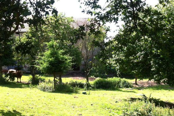 La ferme du lieu-dit Montgiraud sur la commune de Saint-Eloy-les-Mines (63) où le corps d'une septuagénaire a été enterré.