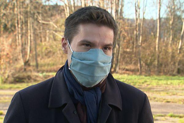 David Valence le maire de Saint-Dié-des-Vosges estime à un million d'euros le surcoût lié au Covid.