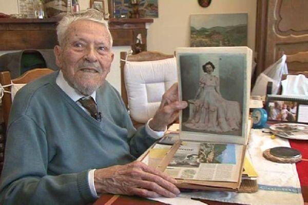 Louis Souchon, 103 ans.