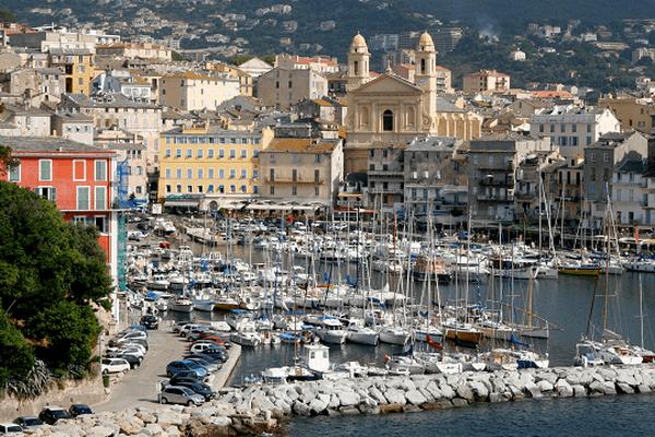 ILLUSTRATION - Le vieux port de Bastia.