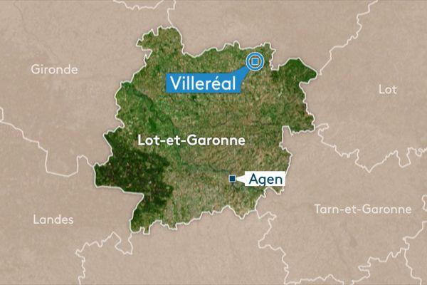 L'homme a eu un accident après avoir été piqué au lieu-dit Lauzel à Villeréal.