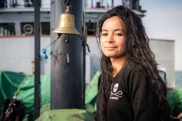 Lamya Essemlali, présidente de Sea Shepherd France