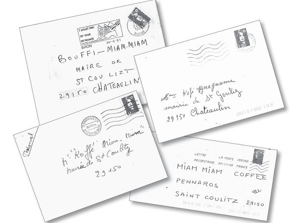"""""""Quelques lettres reçues au hasard : dès la mention du nom sur l'enveloppe, le plaisir malsain de blesser."""""""