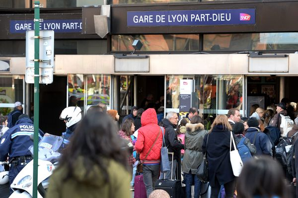 Gare de Lyon Part-Dieu, mars 2016