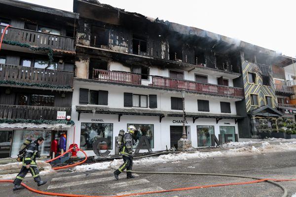 Le 20 janvier 2019, un incendie s'est déclaré dans ce bâtiment hébergeant des saisonniers au cœur de Courchevel (Savoie).