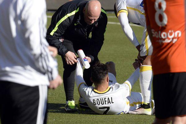 Boufal (LOSC) sorti sur blessure samedi à Lorient.