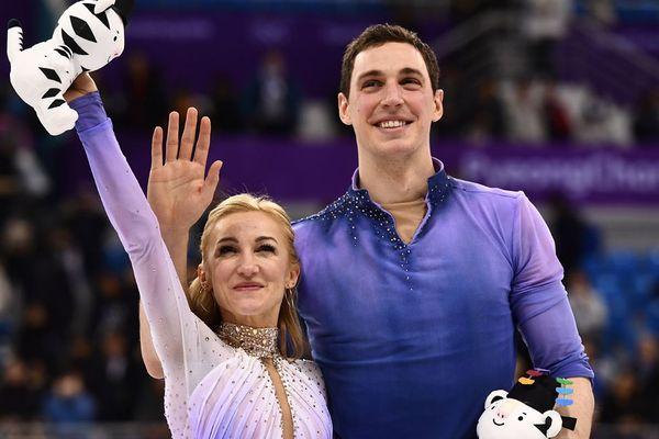 Le Caennais Bruno Massot et sa partenaire Aljona Savchenko
