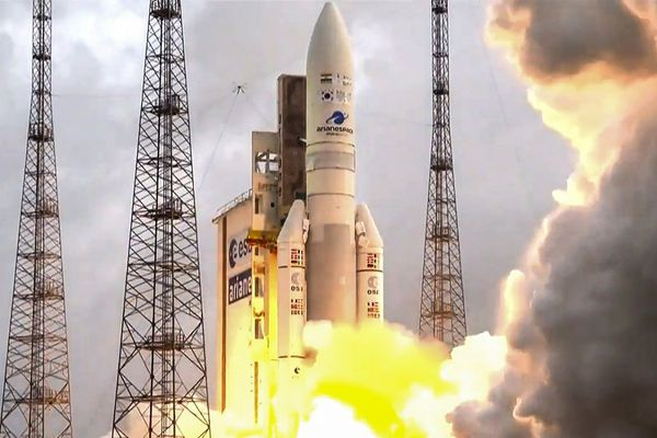 Lancement d'Ariane 5, en 2018.