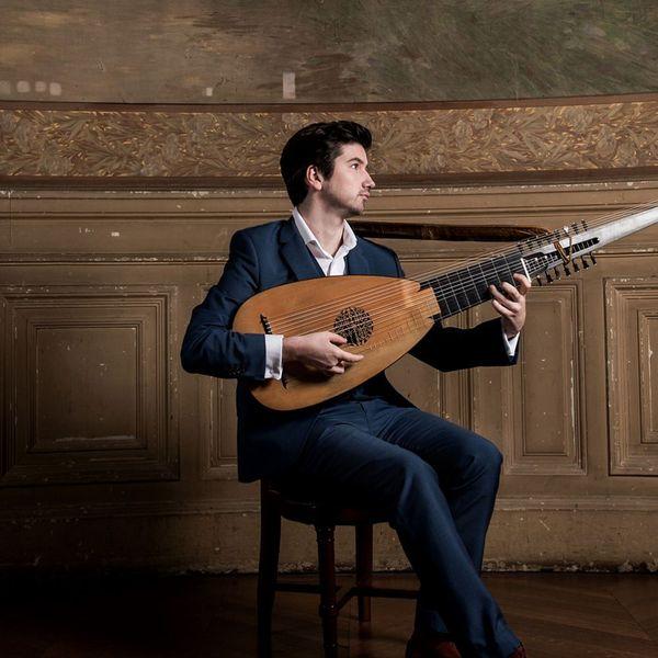 Thomas Dunford, luthiste et Directeur de l'ensemble musical Jupiter.