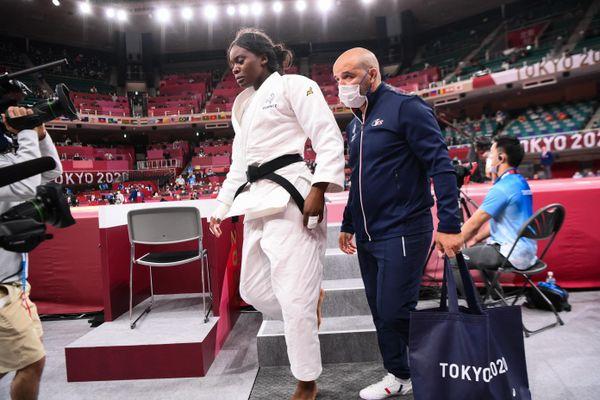 Madeleine Malonga, médaillée d'argent en judo chez les - de 78 kilos