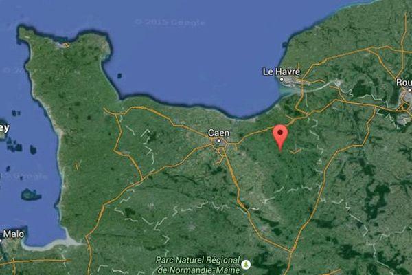 Selon l'IGN, le centre de gravité de la future Normandie se situe à La Houblonnière, dans le Calvados