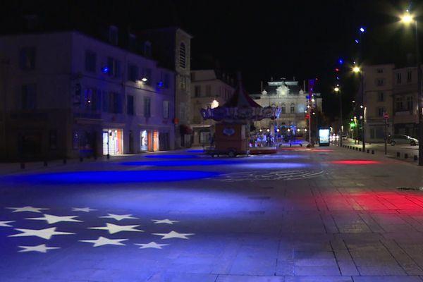 Première nuit du couvre-feu à Lons-le-Saunier