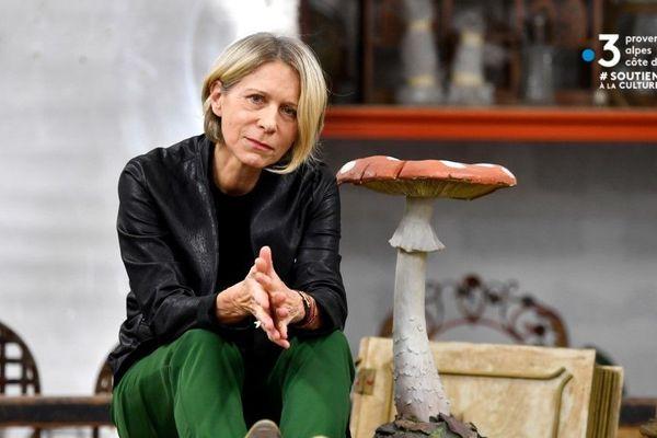 Macha Makeïeff, directrice du théâtre La Criée (Marseille)