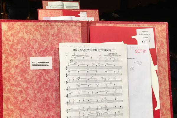 Une partition musicale