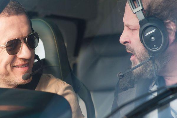 """Dany Boon et Philippe Katerine dans le film """"Le lion"""""""