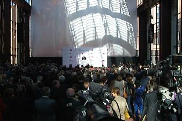 Inauguration hier soir de la Cité du cinéma