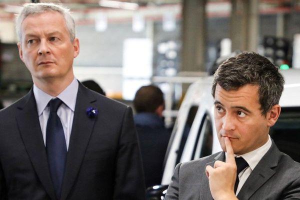 Bruno Le Maire et Gérald Darmanin ont reçu des menaces de mort.