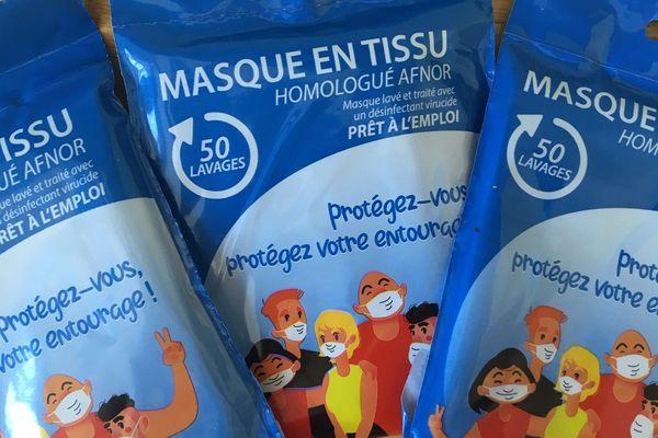 La Ville et l'Eurométropole de Strasbourg ont offert 600.000 masques aux habitants. Certains proviennent du Pakistan, d'autres du Portugal.