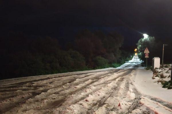 Le Mont Alban, le 25 décembre 2020